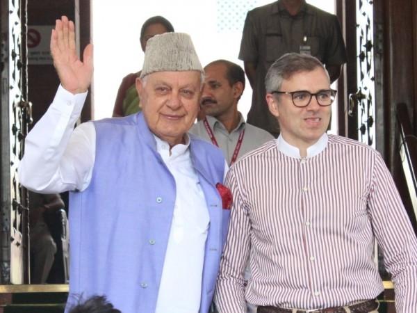 Farooq Abdullah and Omar Abdullah