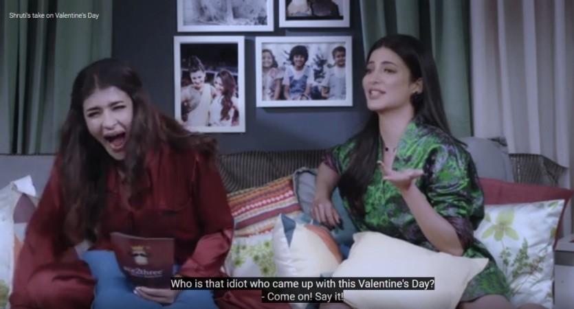 Shruti Haasan on Lakshmi Manchu's chat show