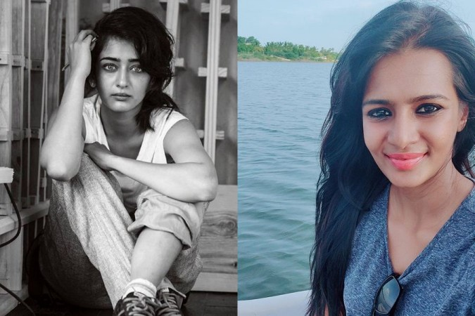 Akshara Haasan and Meera Mitun