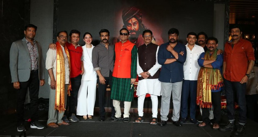 T Subbarami Reddy hosted party for Sye Raa Narasimha Reddy team