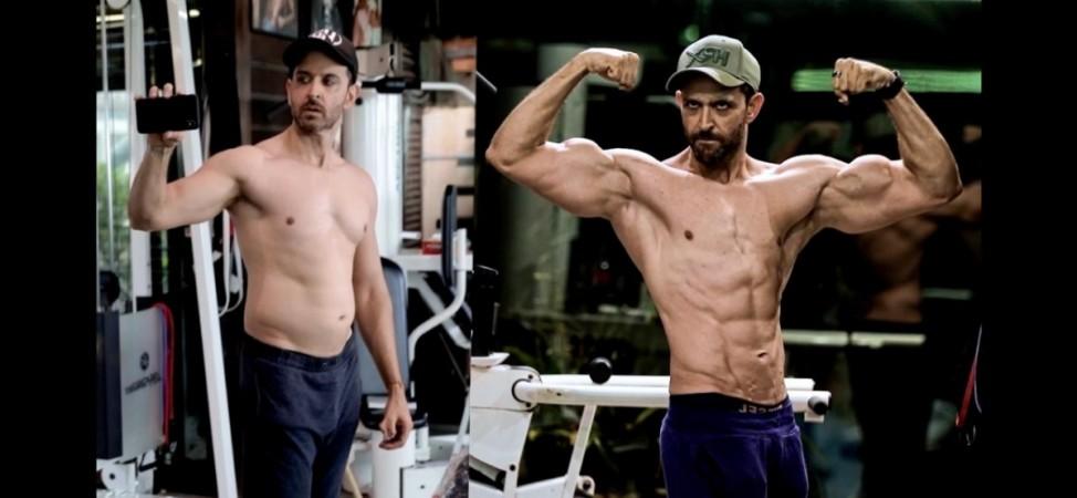 Hrithik Roshan transformation