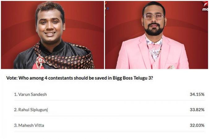 Rahul Siplipunj, Varun Sandesh and IBTimes India poll results