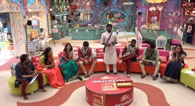 Mahesh Vitta's heated argument with Sreemukhi