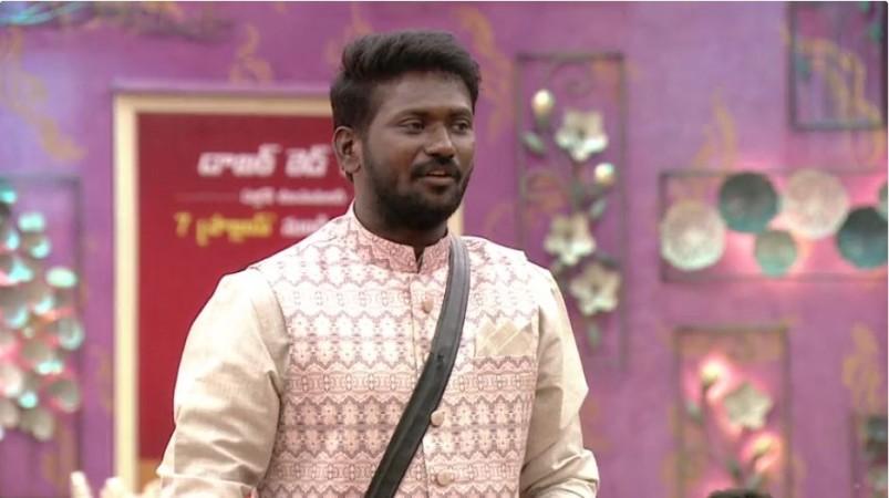 Mahesh Vitta inside Bigg Boss Telugu 3 house