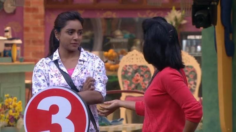 Shiva Jyothi's heated argument with Vithika Sheru during Bigg Boss Telugu 3 nominations