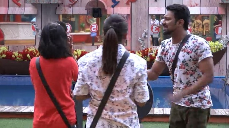 Shiva Jyothi's heated argument with Vithika Sheru and Varun Sandesh during Bigg Boss Telugu 3 nominations