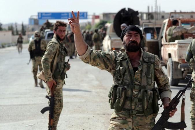 Turkey attacking Kurdistan