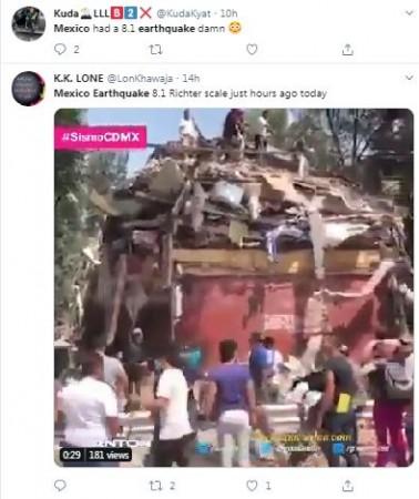 Mexico earthuake