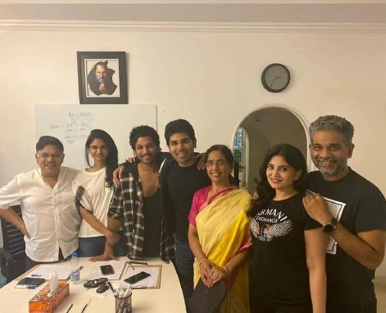 Allu Arvind family members