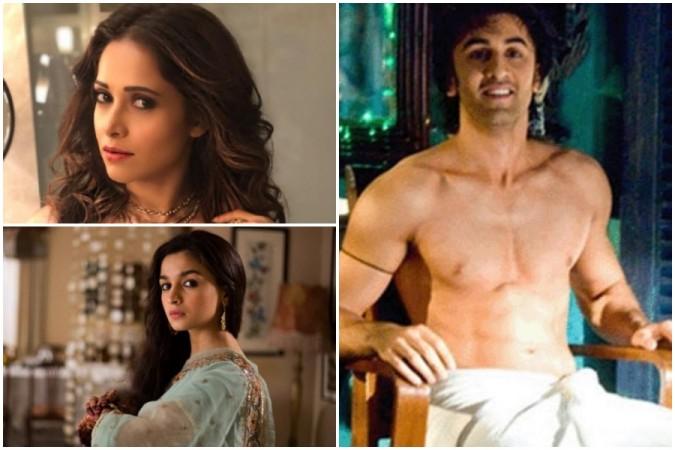 Nushrat Bharucha says she wants to see Ranbir Kapoor in towel, Alia Bhatt reacts