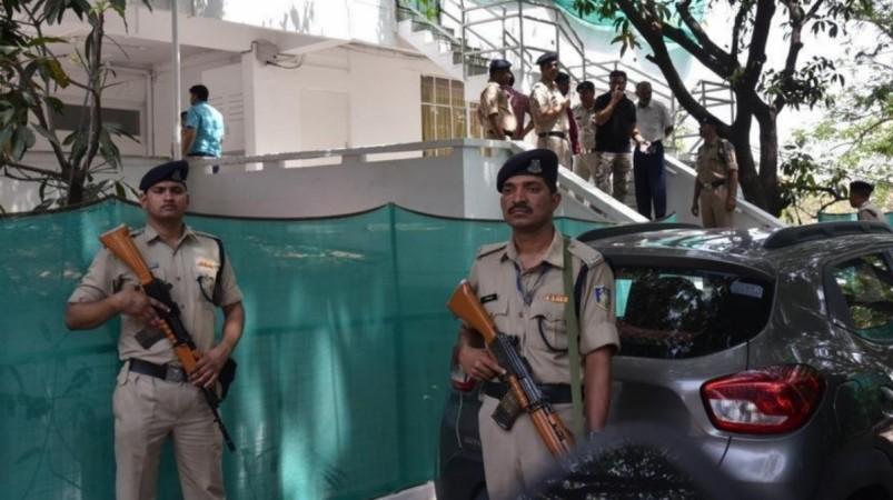 Raids at Kalki Ashram in chittoor