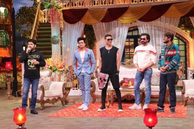 Housefull 4 actors on Kapil Sharma Show