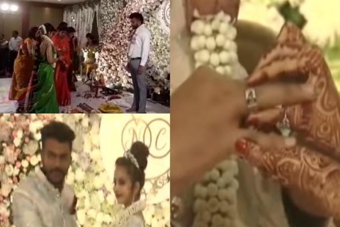 Chandan Shetty and Niveditha Gowda Engagement