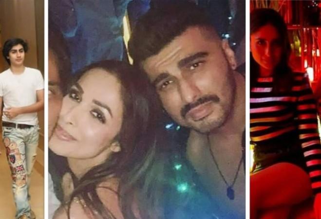 Arhaan Khan, Malaika Arora, Arjun Kapoor, Kareena Kapoor