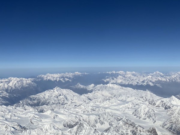 Majestic Himalayas in Ladakh on way to Siachen Glacier