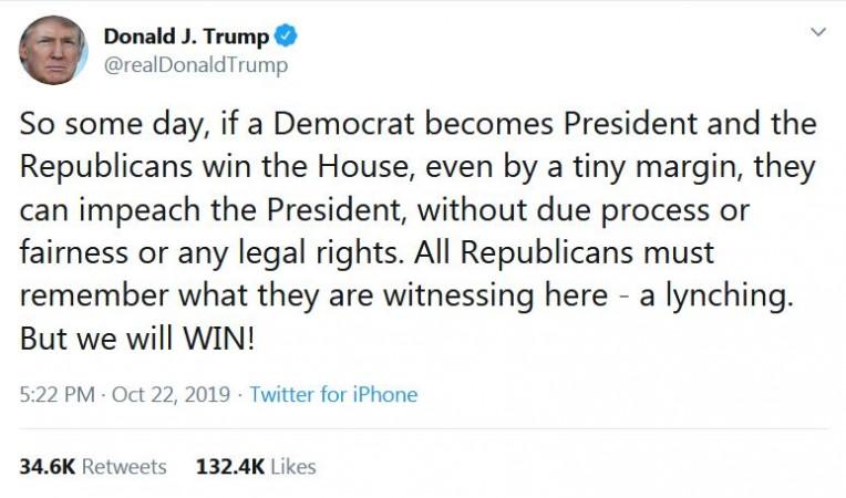 Trump lynching tweet