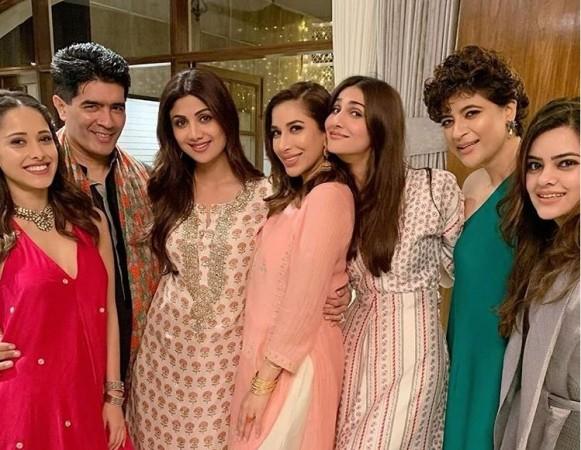 Manish Mahotra Diwali bash