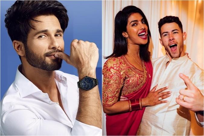 Shahid Kapoor, Priyanka Chopra, Nick Jonas
