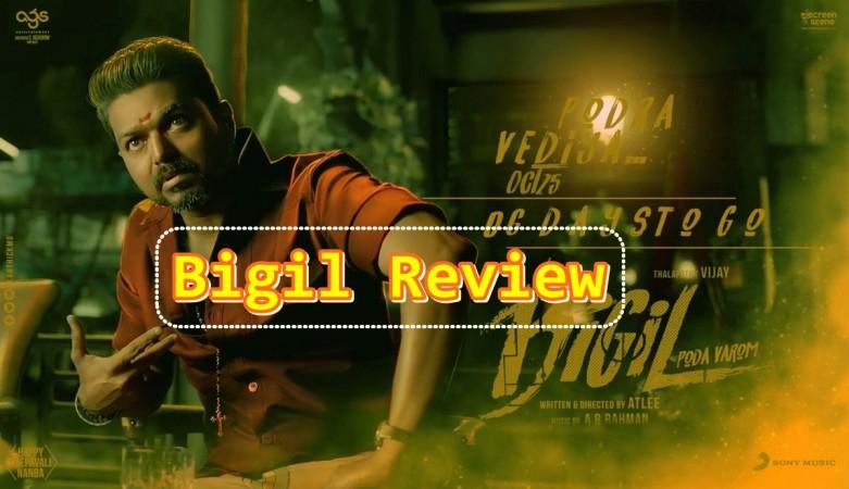 Bigil Movie Review