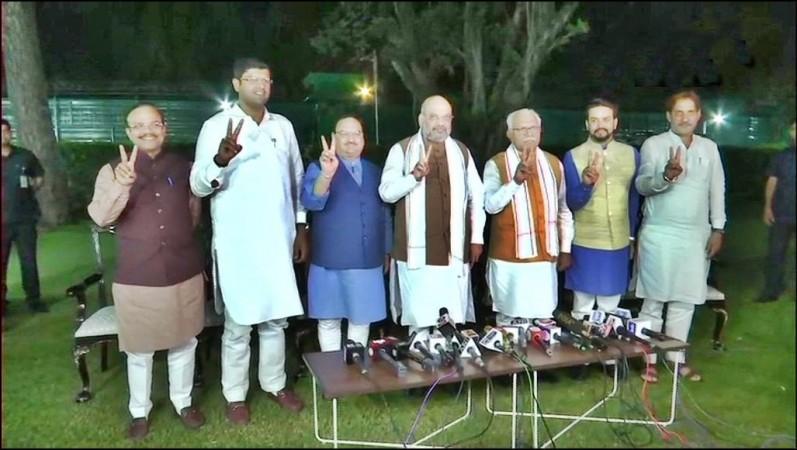 BJP JJP government formation haryana
