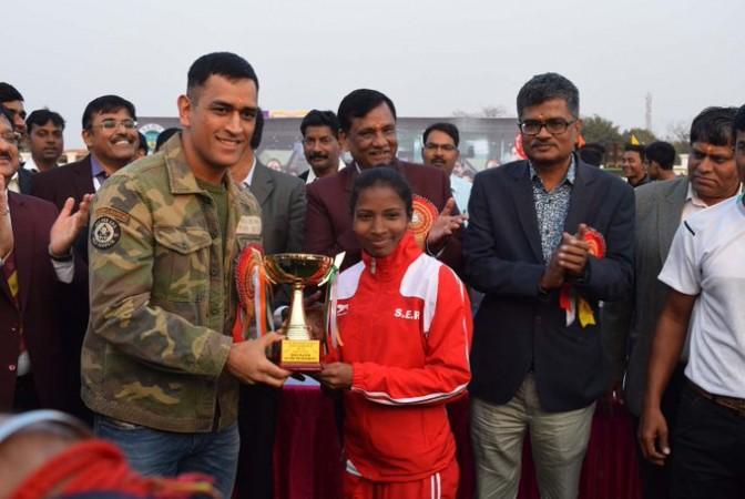 Nikki Pradhan MS Dhoni