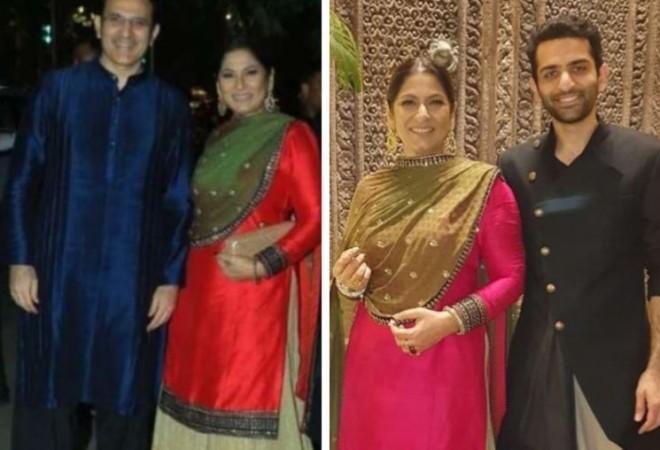 Parmeet Sethi, Archana Puran Singh, Anshuman Sethi