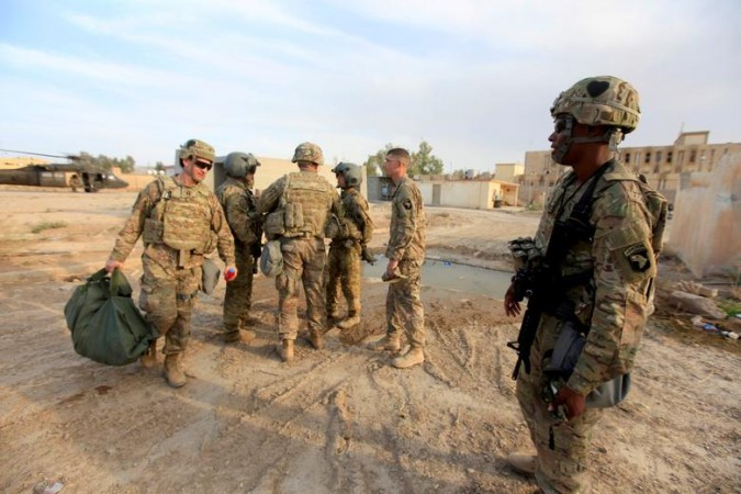 US military base in Iraq