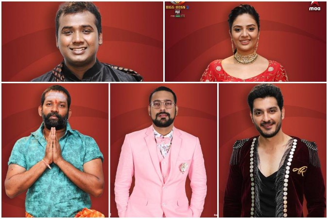 Bigg Boss Telugu 3 top five contestants