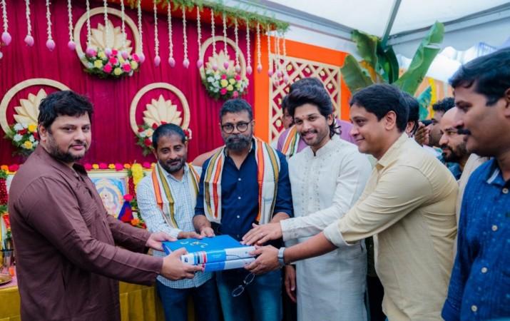 Celebs at Allu Arjun and Sukumar's next movie launch