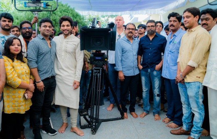 Celebs at Allu Arjun and Sukumar's next movie launch