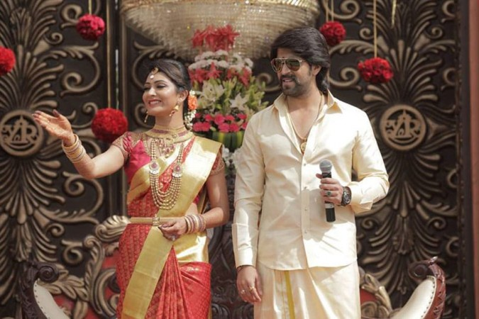 Yash and his wife Radhika Pandit