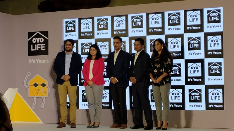 OYO Life CEO Rohit Kapoor and team