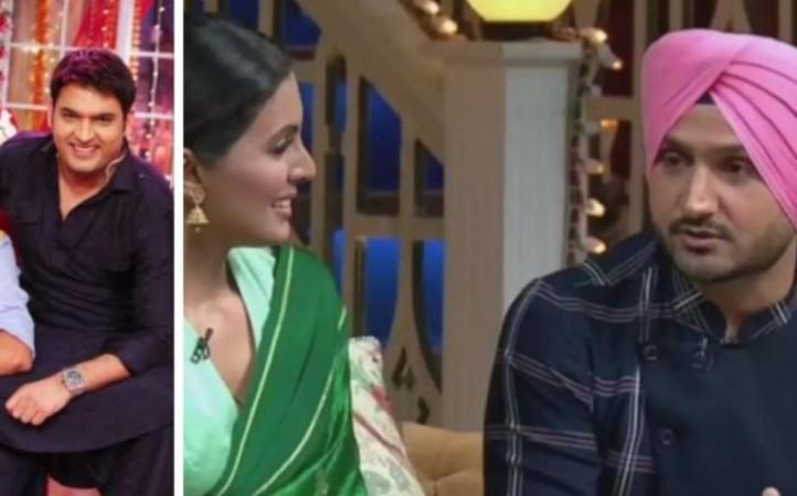 Kapil Sharma, Geeta Basra, Harbhajan Singh