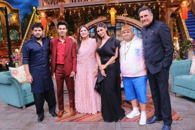 Made in China team at Kapil Sharma Show
