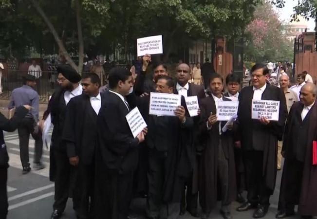Lawyer strike