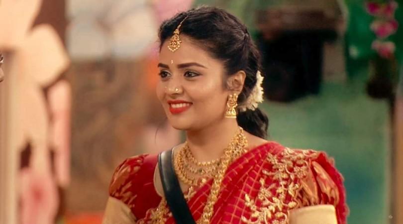 Sreemukhi on Bigg Boss Telugu 3