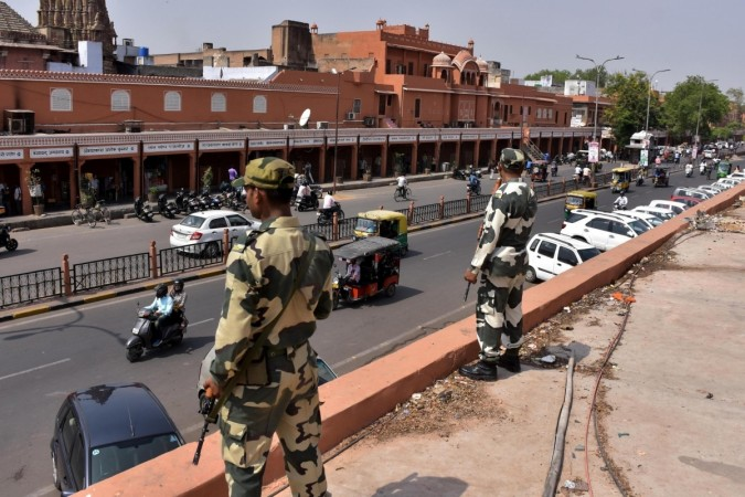 Security beefed up during a