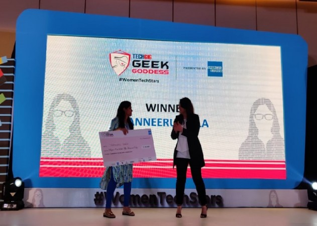 TechGig Geek Goddess 2019
