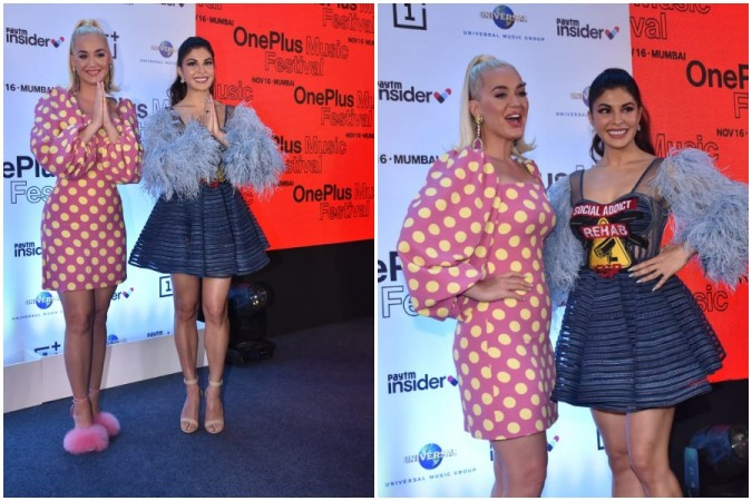 Katy Perry and Jacqueline Fernandez