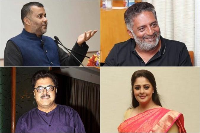 Chetan Bhagat, Prakash Raj, Nagma and Ashoke Pandit