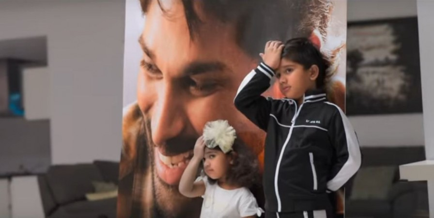 Allu Arjun's son Ayaan and daughter Arha