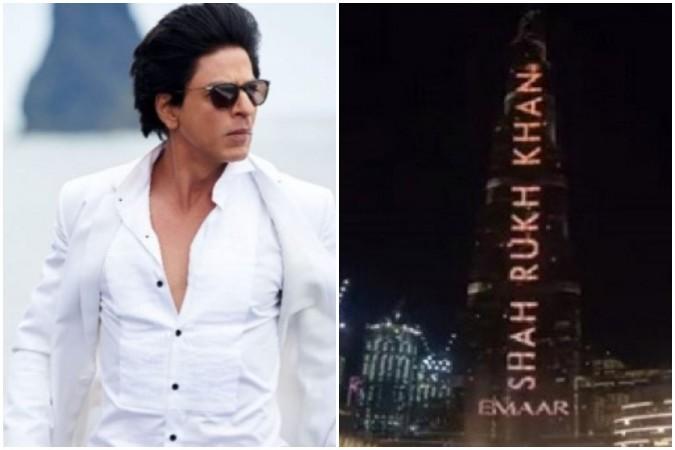 Truth behind rumour of Shah Rukh Khan paying for getting birthday greeting on Burj Khalifa.
