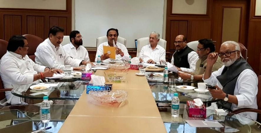 Maharashtra tripartite meeting