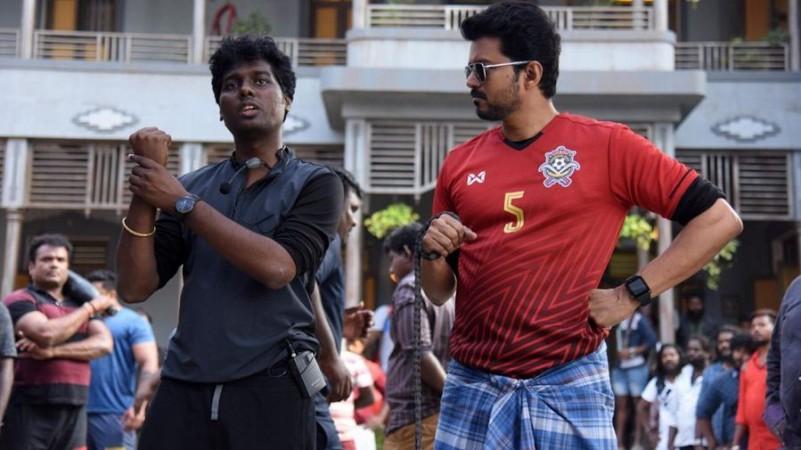 Atlee Kumar with Vijay