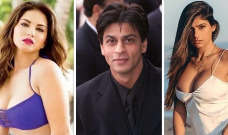 Sunny Leone, Shah Rukh Khan, Mia Khalifa