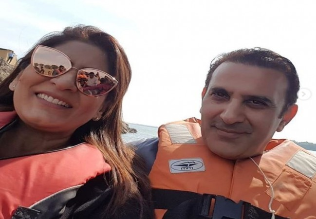 Archana Puran Singh with husband Parmeet Sethi