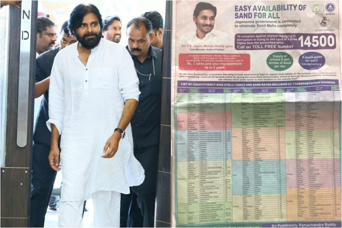 Pawan Kalyan and YCP's newspaper ad