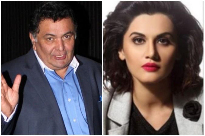 Rishi Kapoor opens up on Taapsee Pannu's Saand Ki Aankh controversy