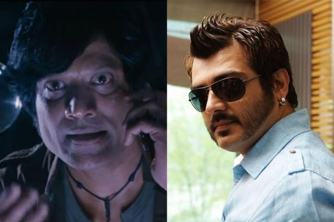 SJ Suryah and Ajith
