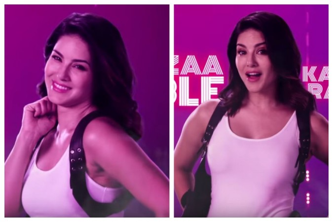 Sunny Leone in Hello Ji song from Ragini MMS Returns 2